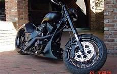 umgebautes motorrad harley davidson custom bike x trem