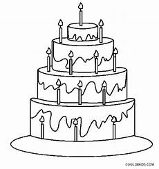 birthday cake printable worksheets 20255 free printable birthday cake coloring pages for