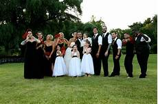 goofy wedding party white and black wedding vw351065 photo by piphotography com my