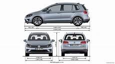 2014 Volkswagen Golf Sportsvan Dimensions Hd Wallpaper 46