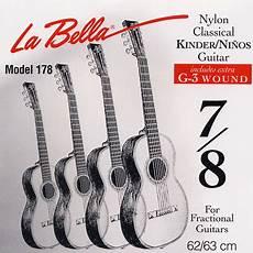 La Fg178 Fractional Guitar 7 8 Size Classical Guitar