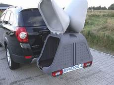 koffer für anhängerkupplung lastentr 228 ger towbox mit grundtr 228 ger und box als