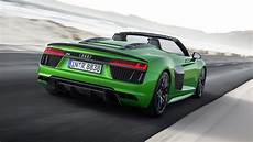 audi adds 610 horsepower r8 spyder v10 plus to range