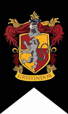 Malvorlagen Harry Potter Gryffindor Harry Potter House Wall Banner Badge Patch Gryffindor Flag