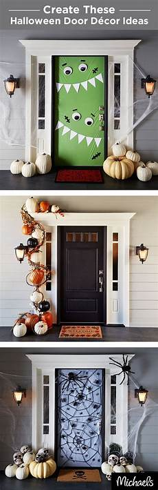 ideas tips exciting front door yard decorations decorate your front door for trick or treaters this