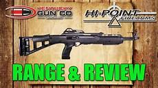hi point 1095ts 10mm carbine review range shoot