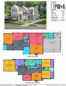 spacious two story home plan two story home plan e9029 in 2020 narrow lot house plans