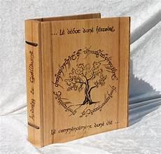 Livre D Or En Bois Pour Mariage Personnalisable Sur