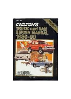 what is the best auto repair manual 1986 mercury sable instrument cluster 1986 1990 chilton s truck van repair manual