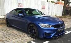 Stunner Custom Frozen Blue Bmw M4