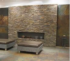 stein deko wand wand aus naturstein bricks rot braun fliesen in