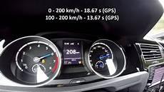 golf r 0 100 stock 2015 vw golf r mk7 dsg 0 100 0 200 km h