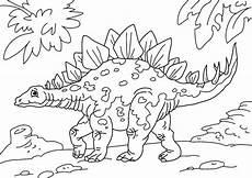 Ausmalbilder Dinosaurier Stegosaurus Malvorlage Dinosaurier Stegosaurus Kostenlose