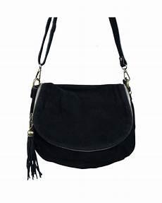 sac noir sac besace en cuir noir pour femme noir pas cher zosha