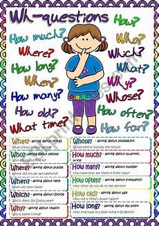 worksheets question words 18435 wh questions poster esl worksheet by mada 1