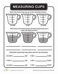 cooking measurement worksheets free 1982 the world s catalog of ideas