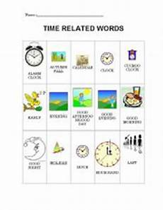 time related worksheets 3173 time words worksheets