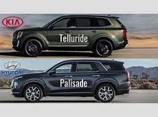 2020 Kia Telluride vs Hyundai Palisade 2020   YouTube
