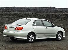 Toyota Corolla Sedan Specs Photos 2002 2003 2004