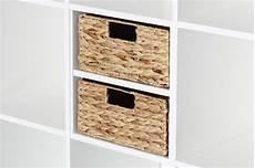 Regal Mit Körben Ikea - regalkorb f 252 r ein halbes ikea kallax regalfach aus