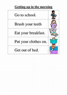 directions worksheet tes 11848 getting up in the morning teaching resources