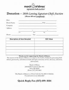chef s auction donation form