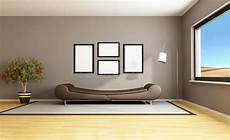 wände farbig streichen brown modern livingroom stock illustration illustration