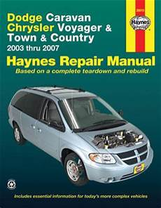 free service manuals online 2012 chrysler town country on board diagnostic system dodge caravan chrysler voyager town and country haynes repair manual 2003 2007 hay30013