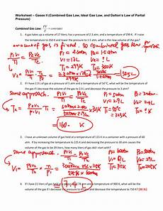 gas laws and scuba diving worksheet answers db excel com