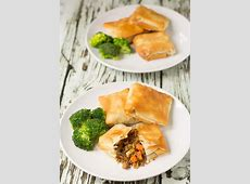 spiced vegetable phyllo parcels_image