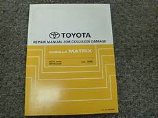manual repair free 2012 toyota matrix user handbook 2009 2010 2011 2012 toyota corolla matrix body collision service repair manual ebay