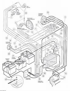 golf club cart wiring diagram 2000 looking for a club car golf cart 48 volt wiring diagram to determine if replacing 6 8v
