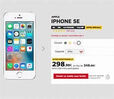 sfr l iphone se d 232 s 1 et un forfait 224 0 pendant 12 mois