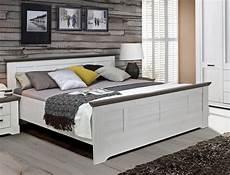 bett gaston 180x200 cm schneeeiche weiss grau komfortbett
