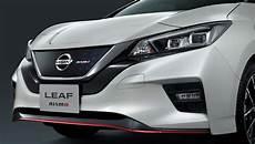 nissan electric 2019 2019 nissan leaf nismo electric kanjozoku the drive
