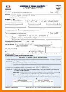 certificat vente de véhicule 15 certificat de cession d un v 233 hicule empereur