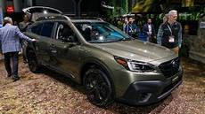 2020 subaru outback at the new york auto show motor1