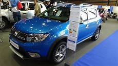 dacia sandero stepway 2018 2018 dacia sandero stepway dci 90 exterior and interior salon automobile lyon 2017