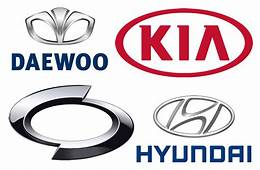 Korean Car Brands  List And Logos Of South Cars