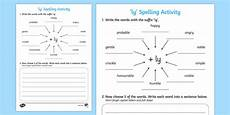 adding ly spelling activity activities spellings spell