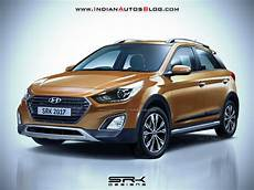 2017 Hyundai I20 Active Facelift Rendering