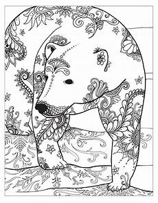 printable coloring pages for adults animals 17282 zendoodle coloring winter coloring pages winter coloring pages