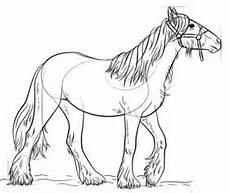 ausmalbilder pferde leicht jak narysować konia krok po kroku rysowanie konia