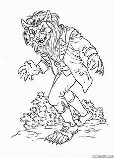 Gratis Malvorlagen Werwolf Malvorlagen
