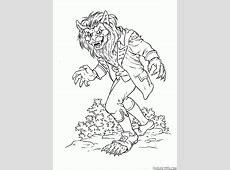 Coloriage   Monstres et méchants