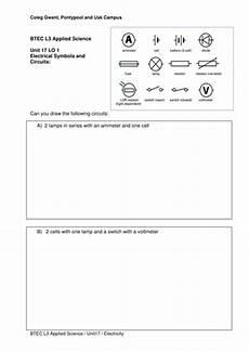 Circuit Diagram Worksheet By Bur00917 Teaching Resources