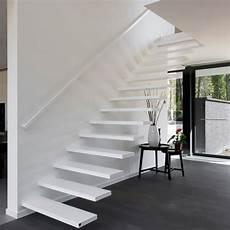 escaliers flottants modernes sur mesure anyway doors