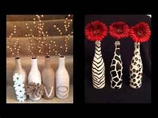 home made decor diy glass bottle pics for home decor ideas