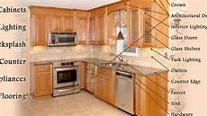 kitchen furniture names how to hang kitchen cabinets