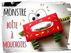 Boite 224 Mouchoirs Monstre Diy Activit 233 Manuelle Hiver